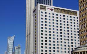 Budowa Hotel Hampton by Hilton Warsaw City Centre w Warszawie - szalunki