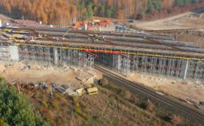 budowa drogi - zdjęcie z drogi