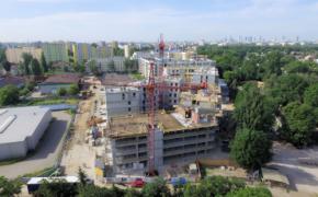 budowa - zdjęcie z drona
