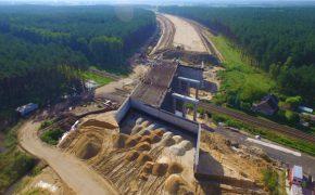 Budowa drogi ekspresowej S5 - Poznań - Wrocław - szalunki