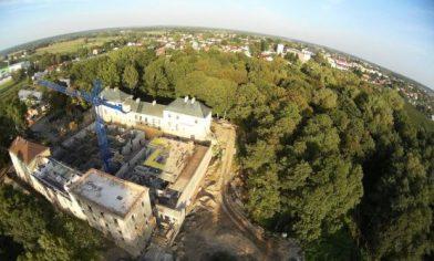 Castle in Janow Podlaski