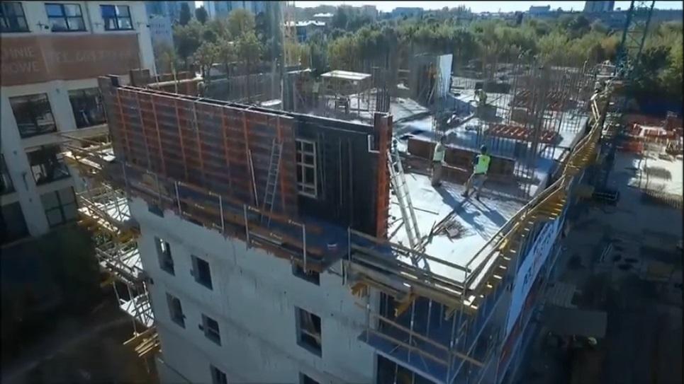 miniaturka filmiku 100 sekund nad apartamentami matejki - szalunki palisander