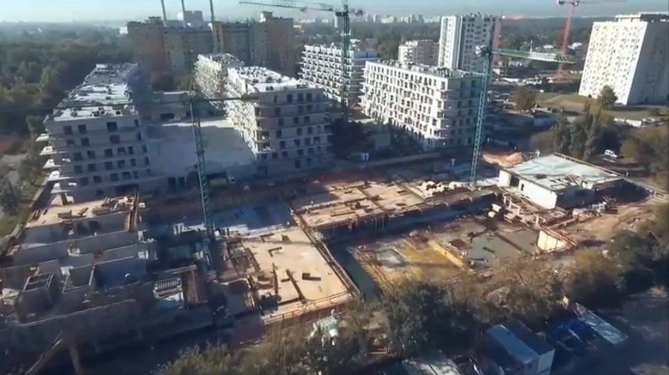miniaturka filmiku 100 sekund nad Atal Marina Apartamenty - szalunki Palisander