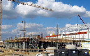 Budowa hali produkcyjnej BMZ Poland w Gliwicach - szalunki