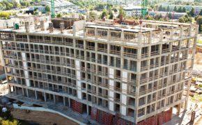 Budowa budynku Metropolitan Park w Lublinie - szalunki