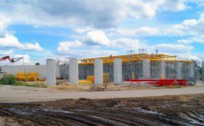 Budowa drogi ekspresowej S8 - Białystok - Warszawa - szalunki