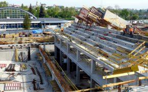 Budowa basenu olimpijskiego w Lublinie - szalunki