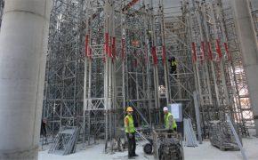 Budowa elektrowni węglowej - Elektrownia Kozienice - Szalunki