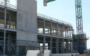 Budowa chłodni przemysłowej NewCold w Kutnie - szalunki