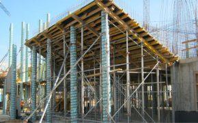 Budowa kampusu Uniwersytetu w Białymstoku - szalunki