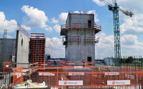 Budowa Fabryki Proszków Mlecznych Mlekovita 3 - szalunki