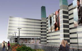 Budowa centrum handlowego Galeria Mokotów w Warszawie - szalunki