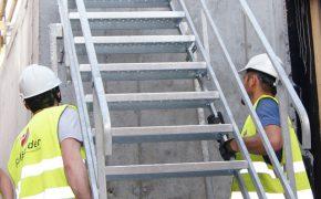 schody tymaczasowe do wykopów pal-sdw