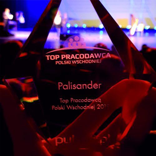Palisander – TOP PRACODAWCA POLSKI WSCHODNIEJ 2019