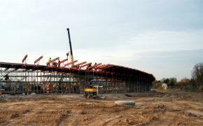 Budowa Węzła Marynarska na drodze S79 w Warszawie - szalunki