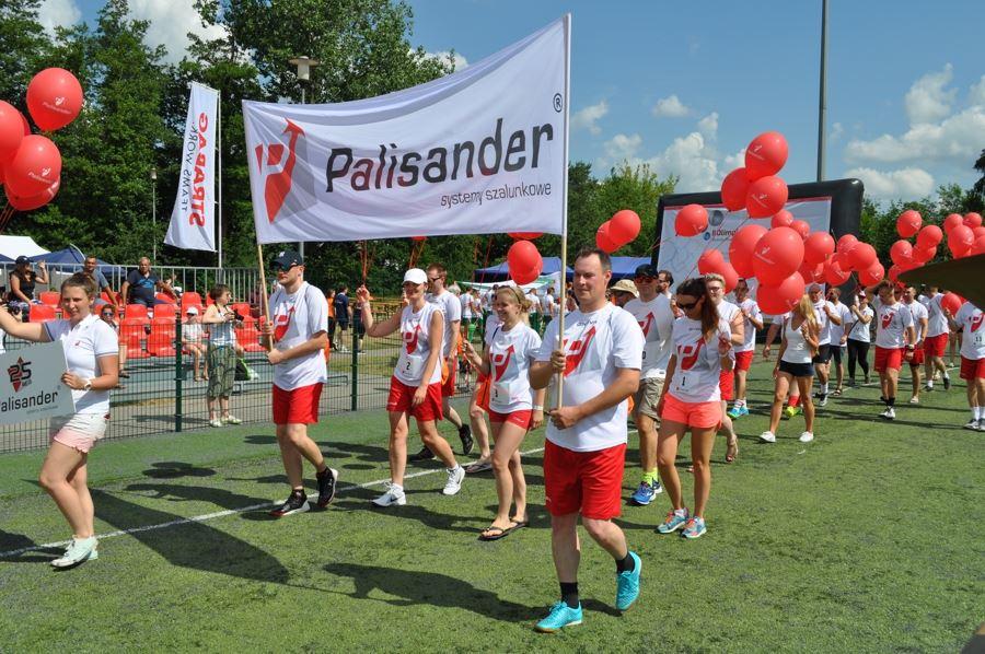 Promocja zdrowego trybu życia w Palisander - parada