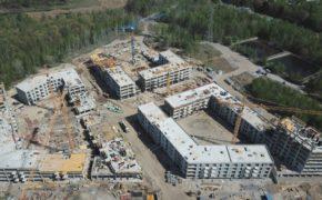 Budowa osiedla Nowy Nikiszowiec w Katowicach - szalunki