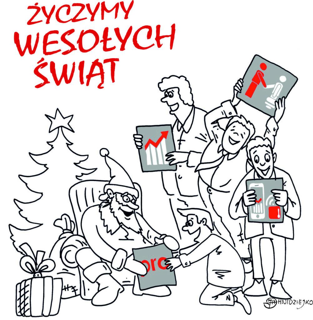 Życzenia od firmy Palisander z okazji Świąt Bożego Narodzenia