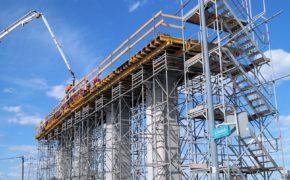 Budowa Węzła Porosły na drodze ekspresowej S8 - szalunki