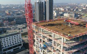 miniaturka filmiku sokolska 30 towers - budowa w sercu miasta
