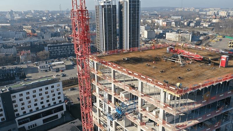 Sokolska 30 Towers – budowa w sercu Katowic