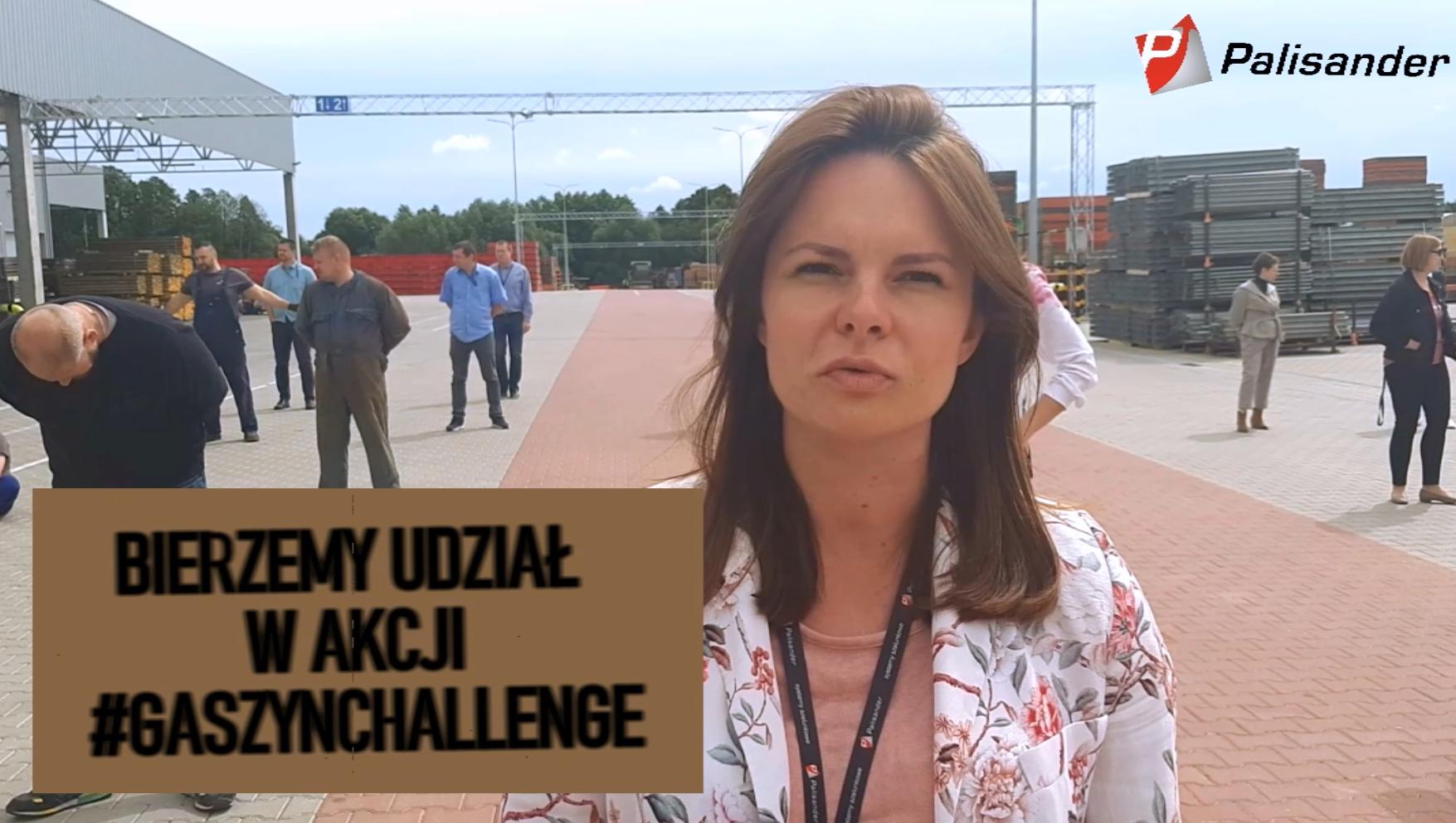 Palisander wzięło udział w akcji #GaszynChallenge