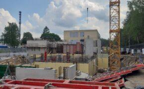 Centrum Projektowania i syntezy Radiofarmaceutyków ukierunkowanych molekularnie CERAD w Otwocku - Szalunki