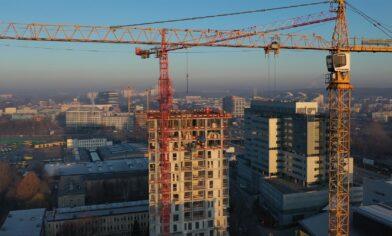 budowa budynku sokólska 30 towers